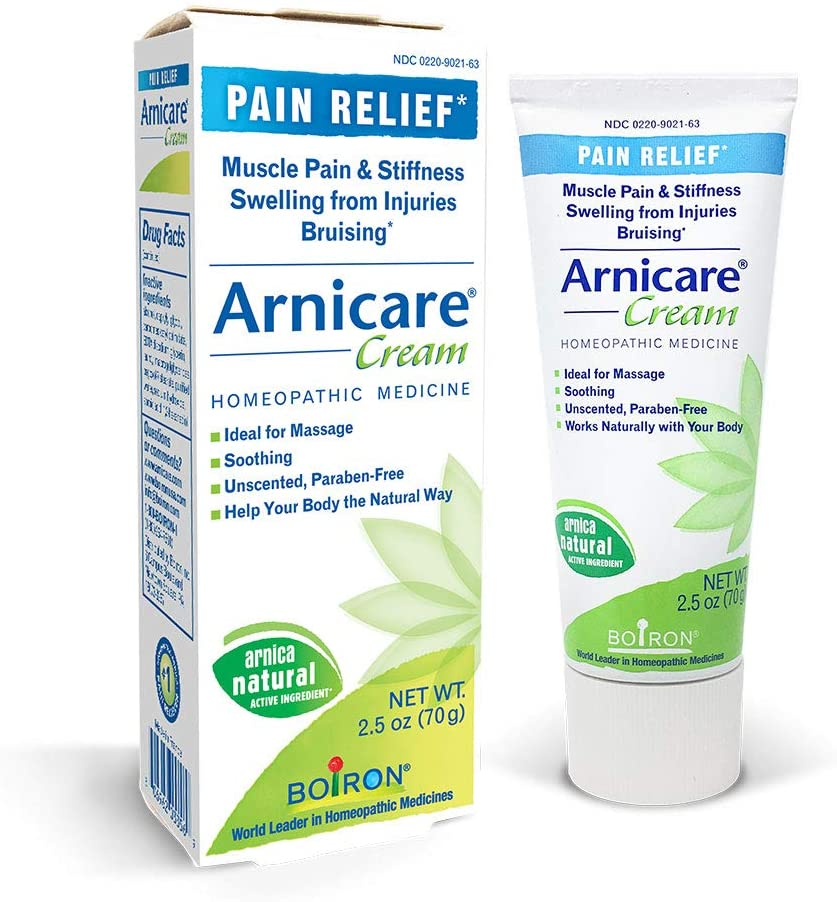 Boiron Arnicare Cream Topical Pain Relief Cream 2.5 Ounce (Pack of 1)